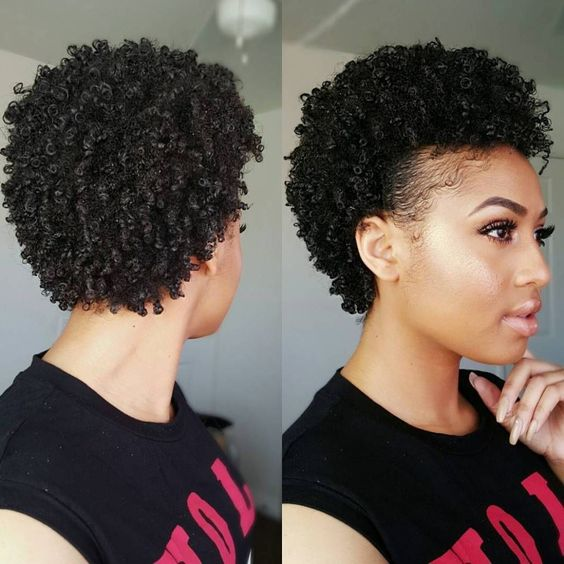Impressive curly hairstyle for thick hair classy_tapered_short_hairstyle_12