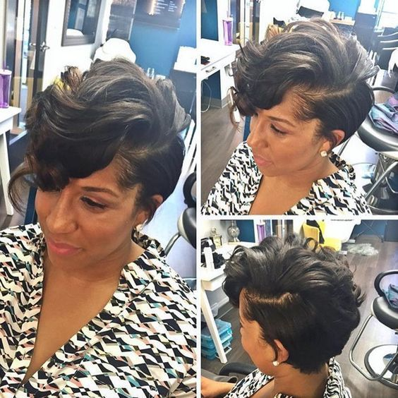 Best and Cute Hairstyles for Short Hair African American Women
