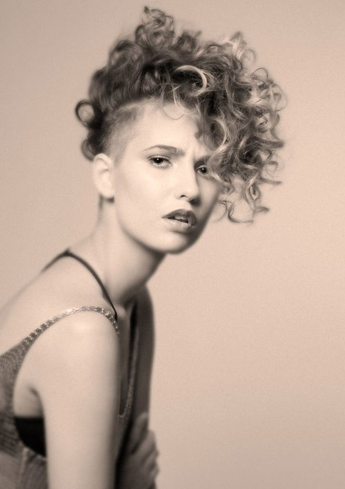 Curly Undercut Hairstyle Women 10 Short Hairstyles 2020
