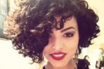 Medium Curly Hairstyles Women 5