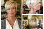Beautiful Layered Pixie Haircut For Women Over 60