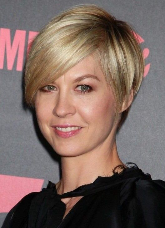7 Top Short Haircuts for Women over 50 blond-short-cropped-haircut-for-women-over-50