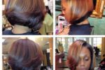 Caramel Lowlight Bob Hairstyle