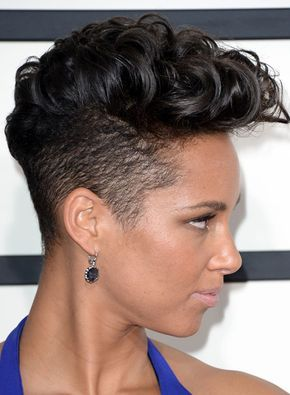 curly mohawk for african american women