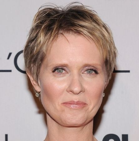 funky pixie cuts for women over 60