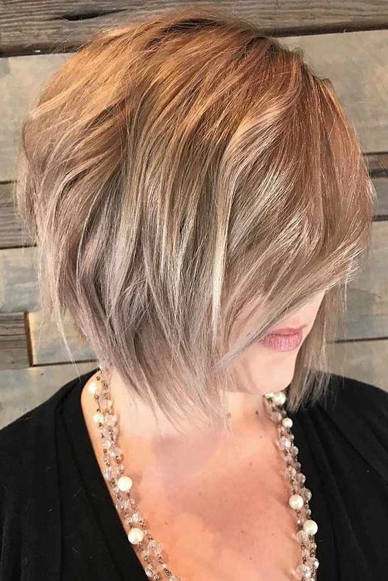 Lob Hairstyle That Make Older Women Look Younger Short