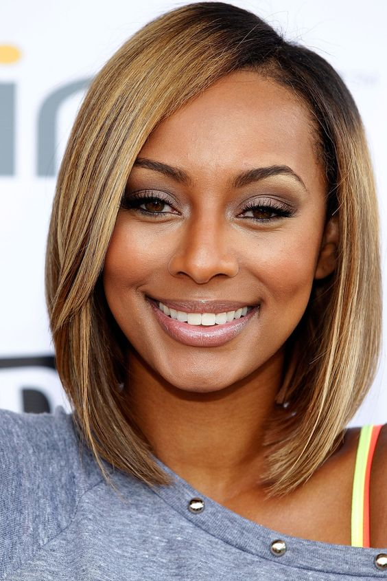 long bob hairstyle for african american women with thin hair