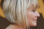 45 Short Hairstyles for Women Over 50 for Fresh and Fashionable Look perfect-angled-short-haircut-for-women-over-50-150x100