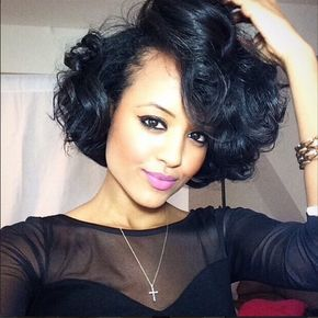 perfect short hairstyles for african american women with thick hair