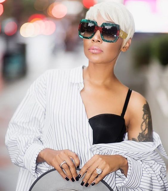 perfect style with short hair