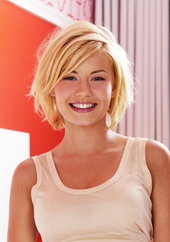 Short Bob with Bangs Hairstyles to Make You Look Cool and Classy shaggy-layered-short-bob-hairstyles-for-women-with-square-face