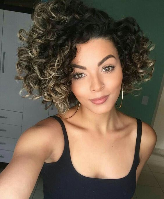 spiral curls for african american with thick hair