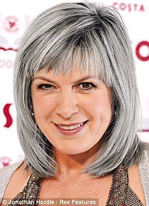 unique bob hairstyle for women over 50