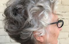 36 Short Hairstyles for Women Over 60 with Glasses (Updated 2019) 1side-look-of-curly-haircut-style-over-60-women-with-glasses-235x150