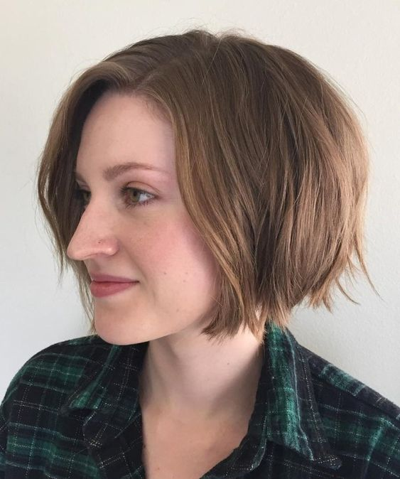 20 Greatest Layered Bob Hairstyles for Older Women (Updated in 2021) Chin-length-soft-layered-bob