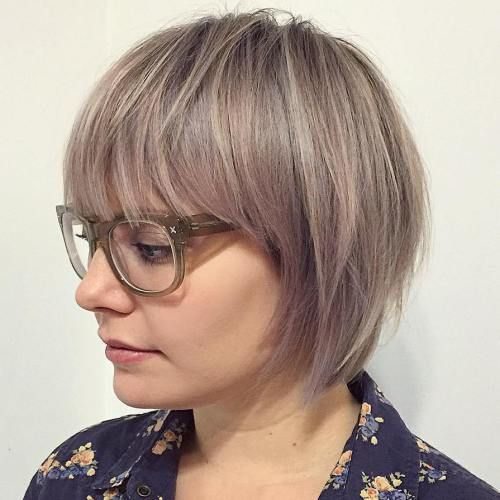 20 Greatest Layered Bob Hairstyles for Older Women (Updated in 2021) Layered-pageboy-hairstyle