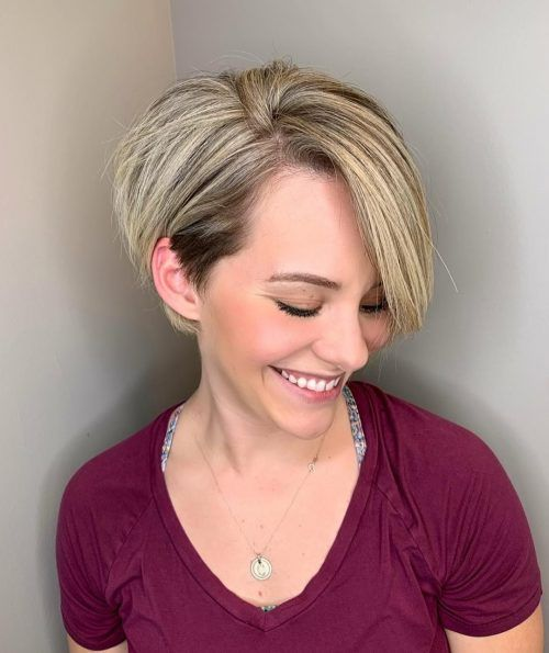20 Greatest Layered Bob Hairstyles for Older Women (Updated in 2021) Layered-pixie-bob-haircut