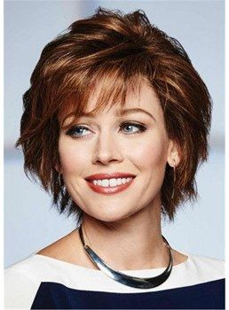 Here are 20 Best Short Haircuts for Straight Hair (Updated 2021) Medium-choppy-layers-with-straight-hair