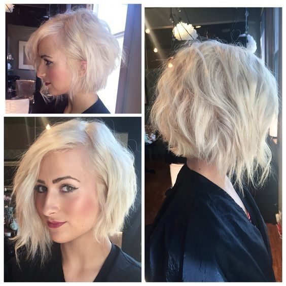 20 Greatest Layered Bob Hairstyles for Older Women (Updated in 2021) Uneven-layered-haircut