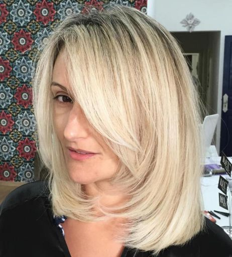 20 Greatest Layered Bob Hairstyles for Older Women (Updated in 2021) Uniformly-layered-haircut