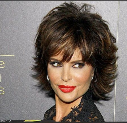awesome retro shaggy haircut that fit with women over 50