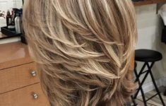 47 Best Shag Haircuts for Women over 50 That Is Easy To Try in 2021 beautiful-layered-shag-haircut-style-for-older-women-with-medium-hair-235x150