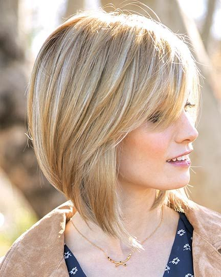 30 Beautiful Angled Hairstyles for Women Over 60 (Updated 2021) c8b9a5fc10277d9b4884d409610897cd