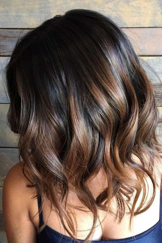 Hair Coloring Ideas For Your Curled Ends Bob Hairstyle
