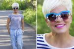 Look Stylish Even When You Are Over 60 With Short Hair
