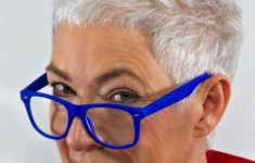 36 Short Hairstyles for Women Over 60 with Glasses (Updated 2019) looking-younger-older-women-with-short-pixie-haircut-235x150