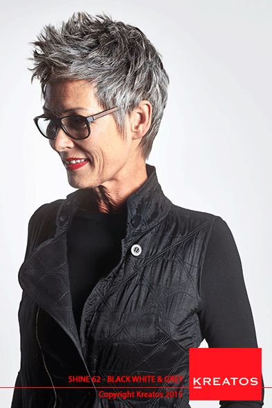modern style of older women with glasses