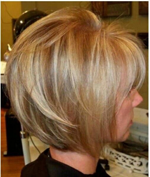 short wedge haircut for women over 60