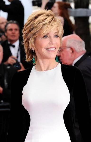 40 Best Shag Haircuts for Women over 50 side-swept-bangs-and-short-shag-haircut-for-women-over-50