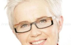 36 Short Hairstyles for Women Over 60 with Glasses (Updated 2019) spiky-short-hairstyle-for-older-women-with-square-face-235x150