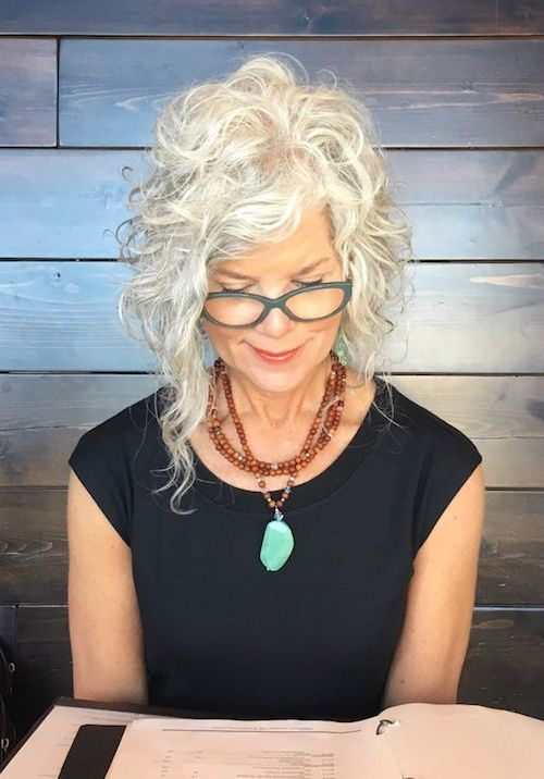 64 Awesome Short Curly Hairstyles for Women over 50 (Updated in 2021) Curly-angled-lob