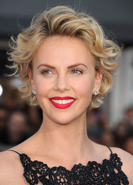 64 Awesome Short Curly Hairstyles for Women over 50 (Updated in 2021) Layered-curly-haircut