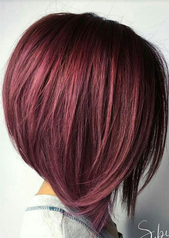 beautiful haircut color for choppy haircut that will look awesome on older women