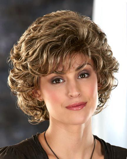 beautiful natural curly haircut for older women with thick hair