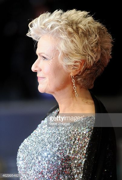 beautiful short curly pixie haircut that women over 50 could try