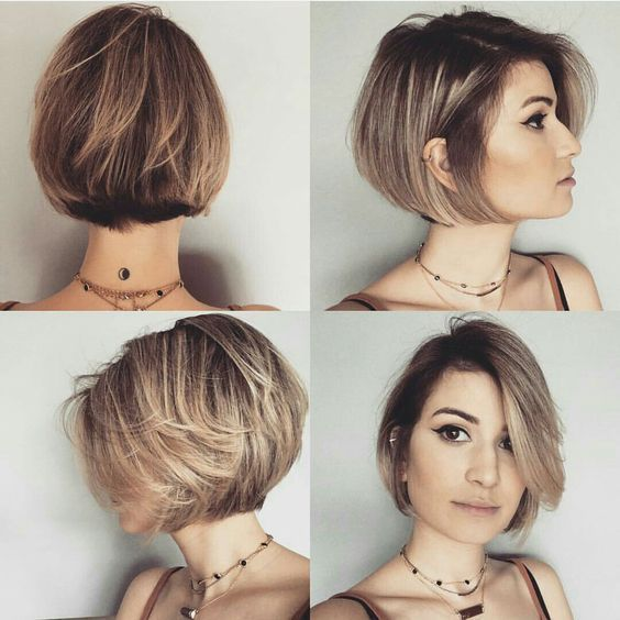 54 Awesome Short Layered Bob Hairstyles Ideas bob-hairstyle-with-layers-that-you-can-try-this-year