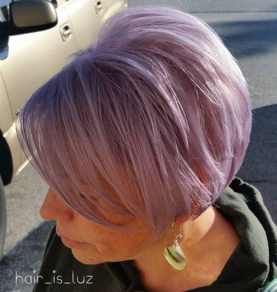 54 Short Choppy Hairstyles for Women over 60 to Look Younger choppy-haircut-with-burgundy-color-that-look-awesome-with-older-women