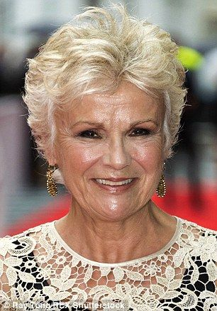 Elegant Short Curly Pixie Hairstyle For Older Women