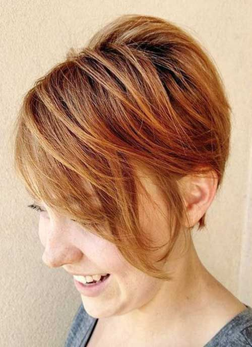 gorgeous choppy cut that will look awesome with older women