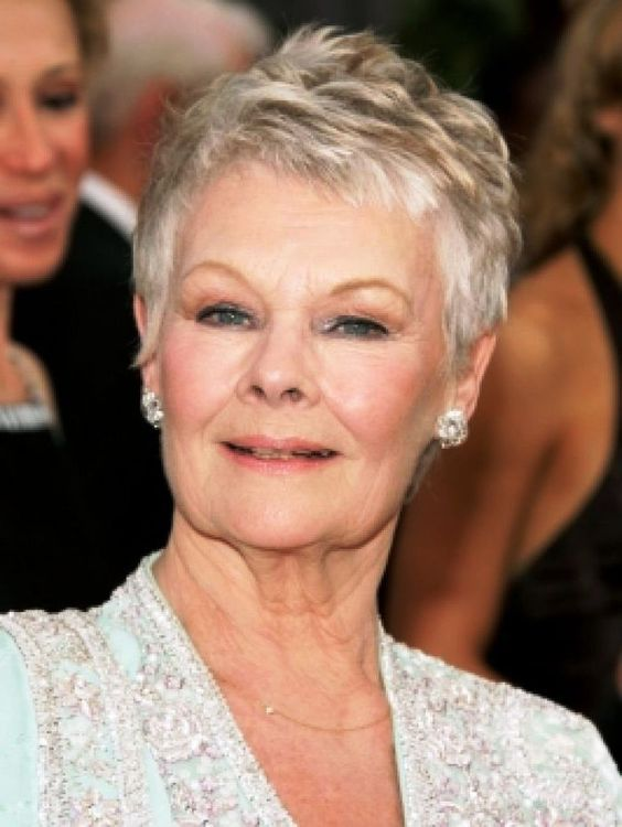 look younger with choppy pixie haircut, even when you are over 60