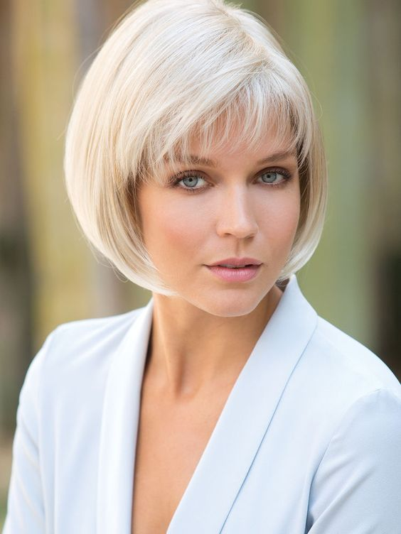 look younger with rounded bob hairstyle