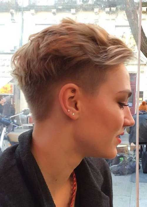 this feathered pixie cut will makes you look modern and trendy