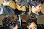 Finger Wave Style With Short Curls 1