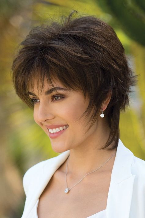 45 Short Shag Haircuts for Women Over 50 for Stylishness with Youthful Appearance 0f7c61d942e8ef00bc4a4ebd01fe6461