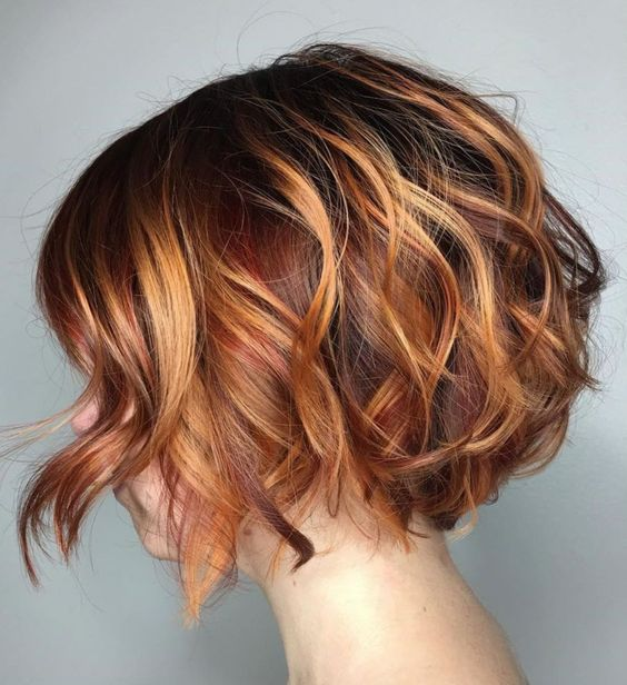 The Layered, Highlighted Bob Hairstyle 3