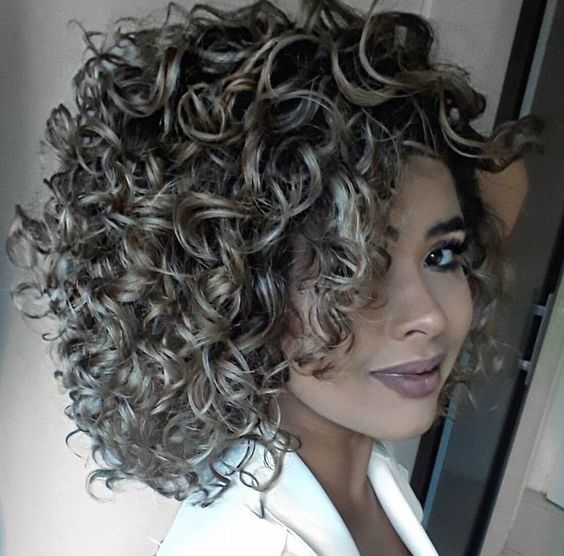 types of perms for short hair